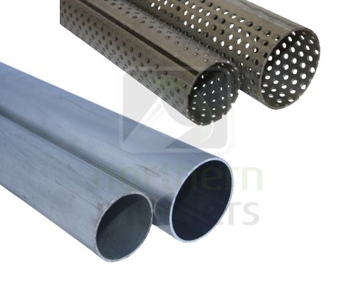Steam Pipe, Aluminium & Perforated Tube