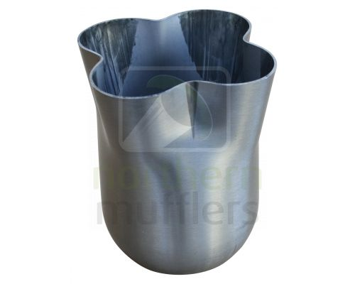4 Into 1 Collector Cones - Stainless Steel