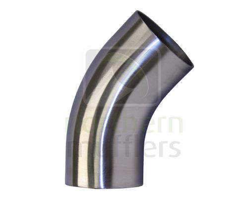 45º Stainless Steel Bends - 316 Grade