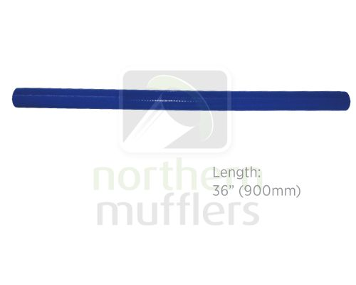 "36"" Long - Blue Silicone Hose 4 Ply"