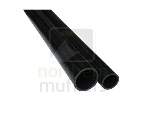 "36"" Long - Black Silicone Hose 4 Ply"