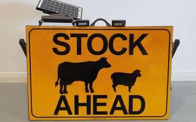 New Product: FarmBase Stock Ahead Signs